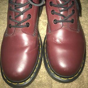 Dr. Martens Shoes - Maroon Doc Marten's